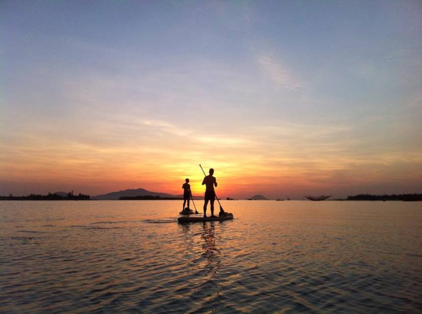 Sunrise Stand-up Paddle in Hoi An